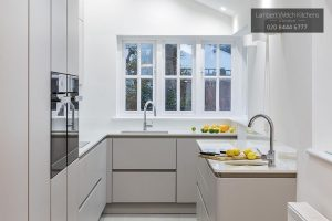 Collingwood Avenue - Modern White Kitchen Design